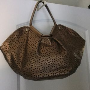 Jimmy Choo hobo in bronze